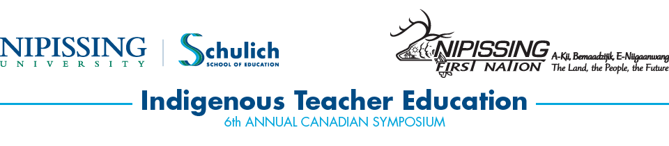 Canadian Symposium on Indigenous Teacher Education